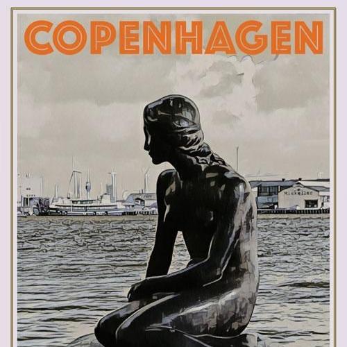 Les cartes postales de Prune ; étudiante Erasmus à Copenhague #1